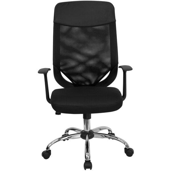 Wojtowicz High-Back Mesh Desk Chair by Symple Stuff