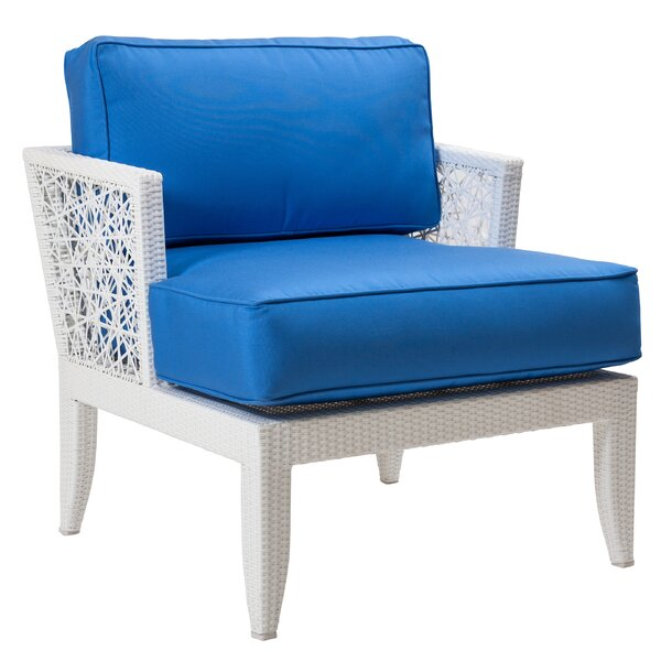 Mykonos Patio Chair with Cushions by David Francis Furniture
