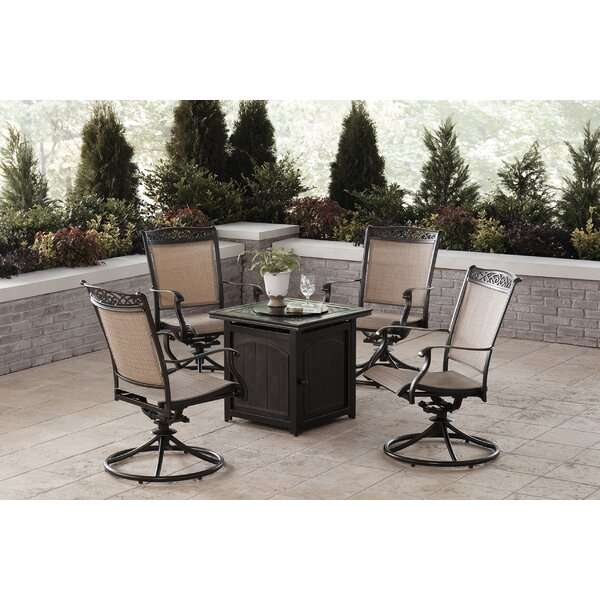 Bucher 5 Piece Multiple Chairs Seating Group by Fleur De Lis Living