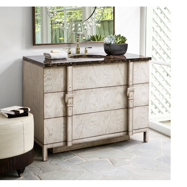 Trendy 48 Single Bathroom Vanity Set by Ambella Home Collection