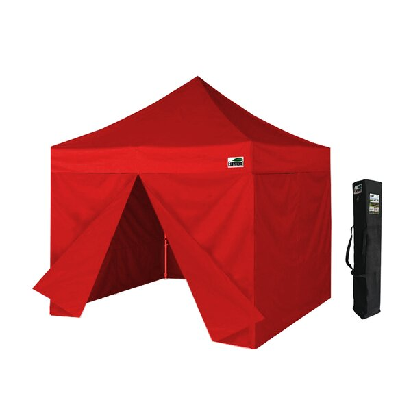 10 Ft. W x 10 Ft. D Steel Pop-Up Canopy by Eurmax