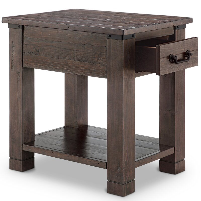 Pine Brook Hill Ridge End Table