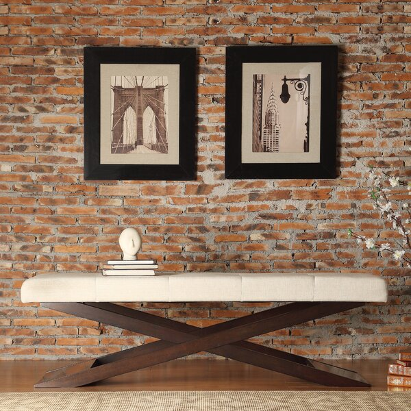 Lani Wood Bench by Zipcode Design