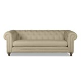 Chesterfield 72 Rolled Arm Sofa by South Cone Home