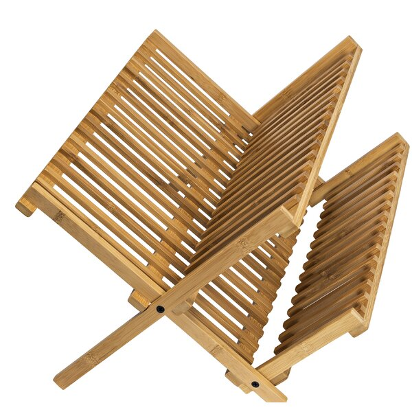 Bamboo Drying Dish Rack by Honey Can Do