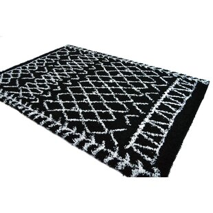 Read Reviews Jarne Tribal Black/White Area Rug By Union Rustic