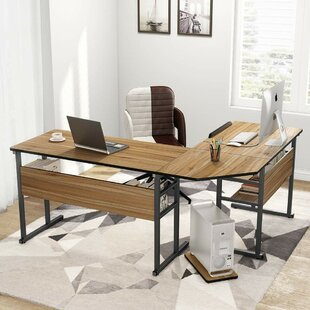 Fouts L-Shaped Credenza desk