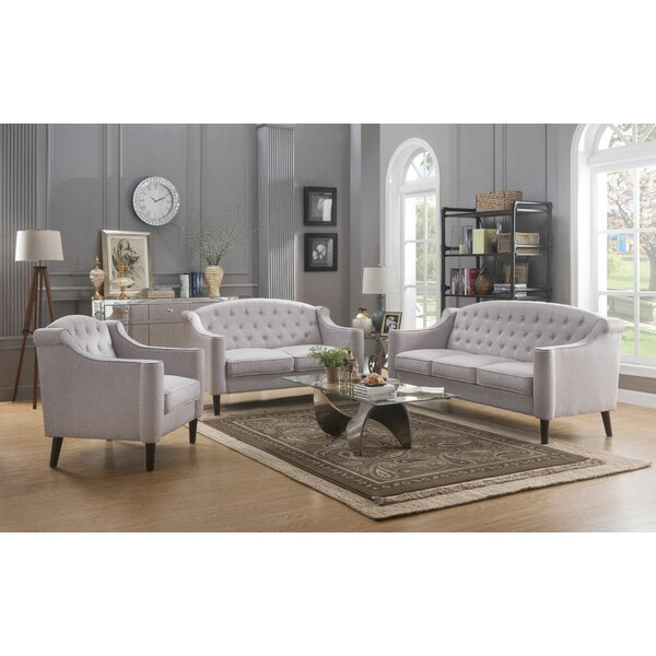 Ediline Configurable Living Room Set by House of Hampton