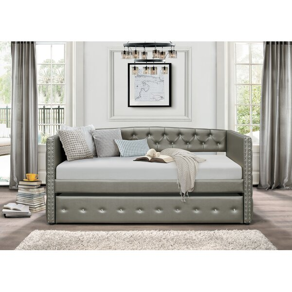 Rialto Twin Daybed with Trundle by Rosdorf Park