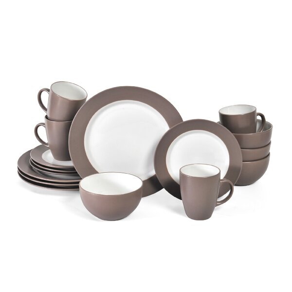 Harmony 16 Piece Dinnerware Set, Service for 4 by Pfaltzgraff