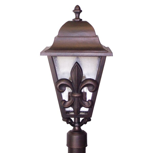 Penfield Fleur De Lis Series 3 Light 29 Post Lantern by Alcott Hill