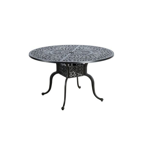 Dunnes Aluminum Dining Table by Darby Home Co