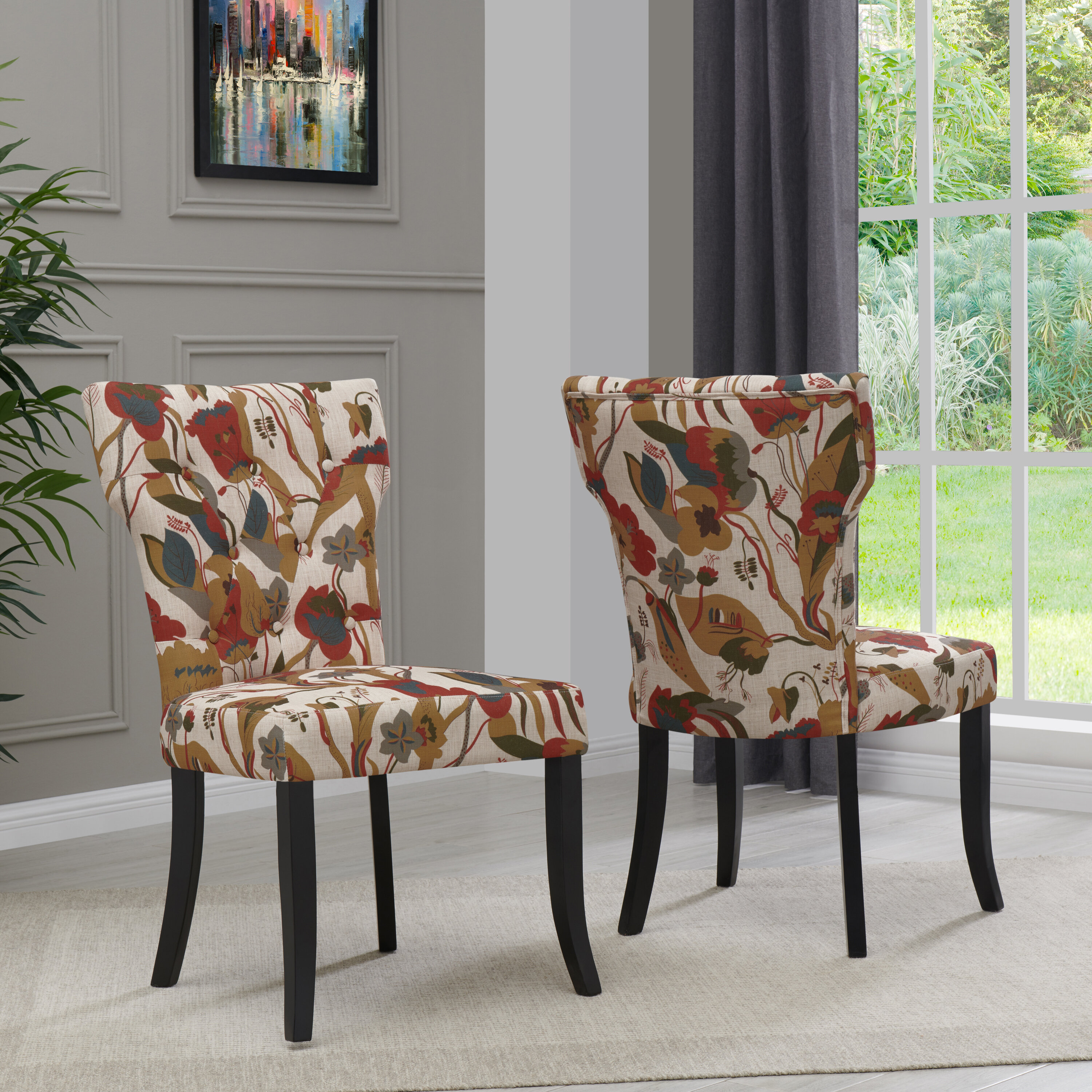 Picture of: Vangilder Upholstered Dining Chair Reviews Joss Main