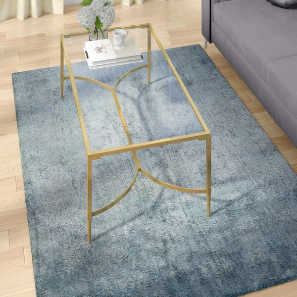 Delroy Hand-Tufted Blue Area Rug by Willa Arlo Interiors