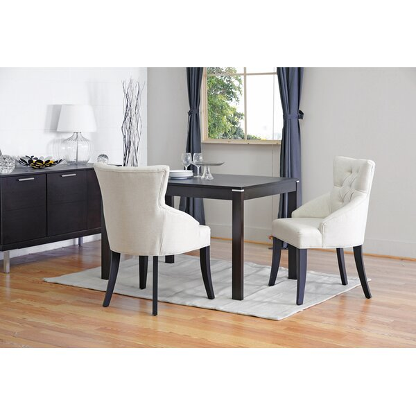 Caceres Upholstered Dining Chair (Set of 2) by Darby Home Co