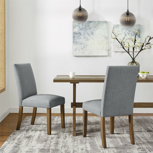 Veazey Upholstered Dining Chair (Set of 2) by Gracie Oaks