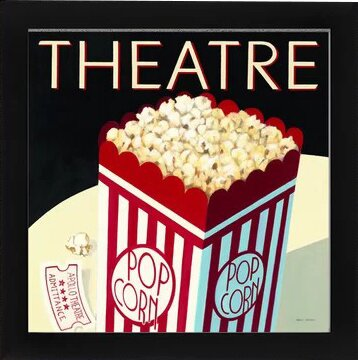 Theatre Framed Wall Art by East Urban Home