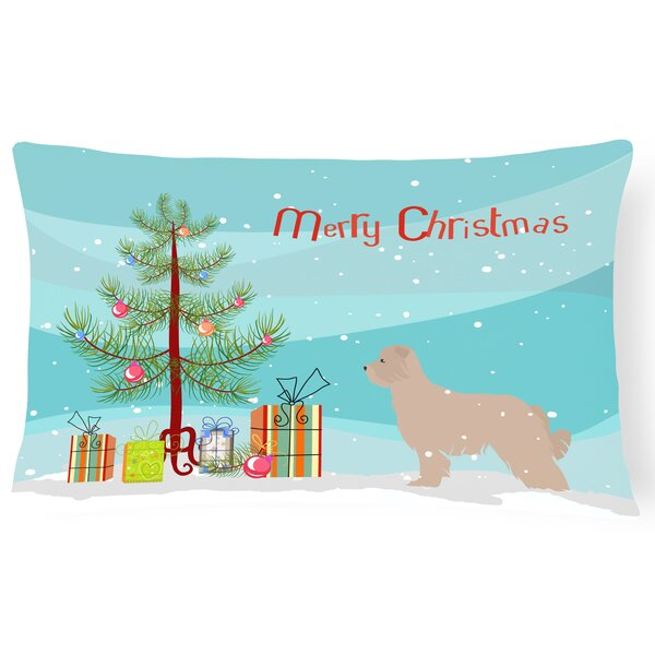 Pyrenean Shepherd Indoor/Outdoor Lumbar Pillow by The Holiday Aisle