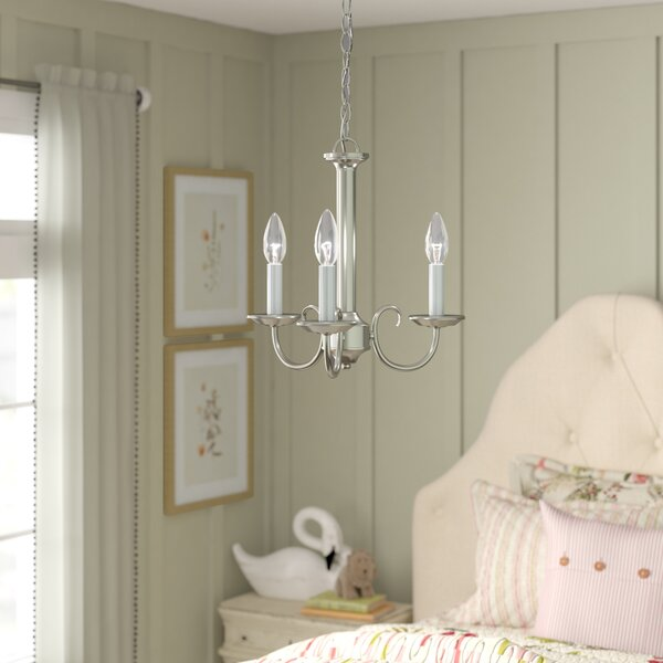 Thatcher 3 - Light Candle Style Classic / Traditional Chandelier By Birch Lane™ Heritage