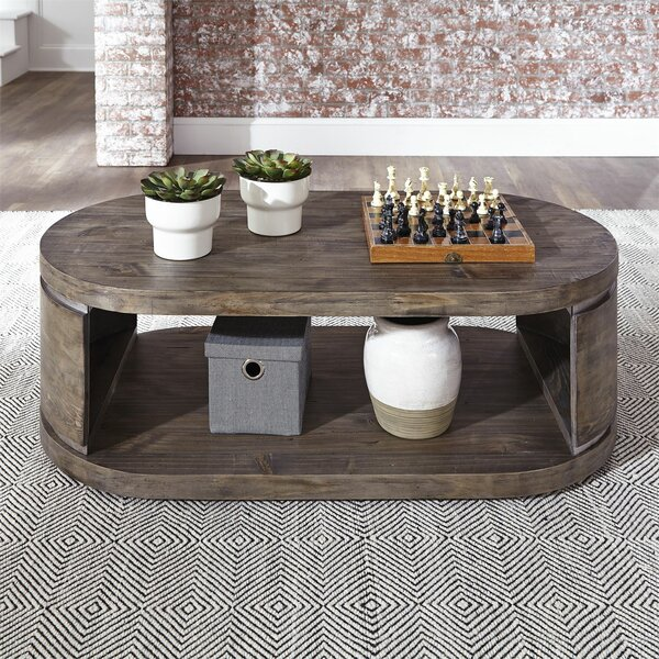 Manuela Coffee Table by 17 Stories