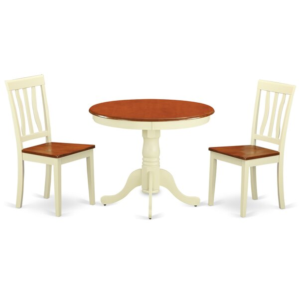 Starr 3 Piece Dining Set by Winston Porter