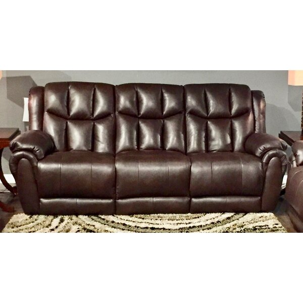 High Profile Leather Recliner Sofa by Southern Motion