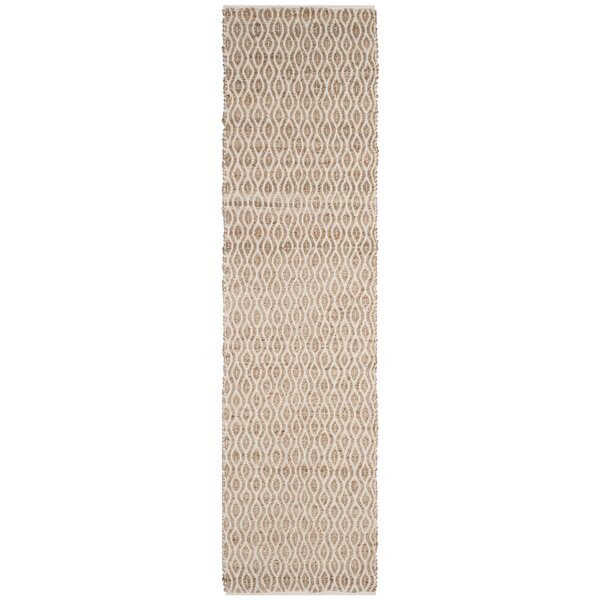 Zap Hand-Woven Natural Area Rug by August Grove