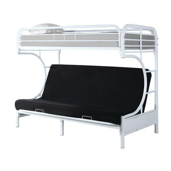 Garey Full Futon Bunk Bed by Zoomie Kids