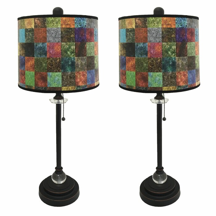 Ladetto crystal 28 buffet lamp