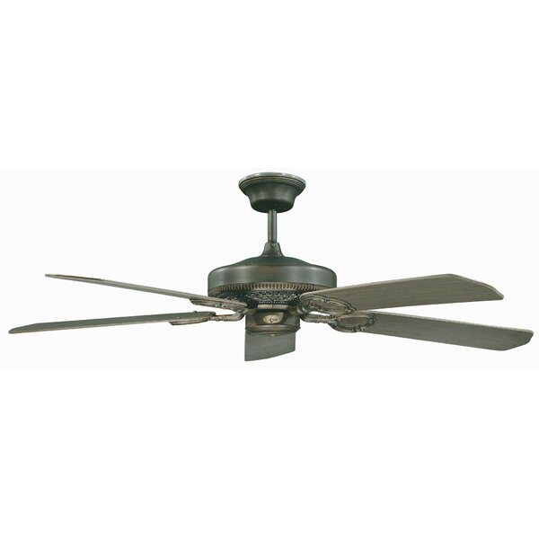 52 French Quarter 5-Blade Ceiling Fan by Concord Fans