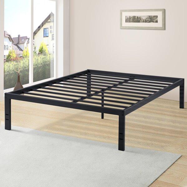 Durham Heavy Duty Bed Frame [Alwyn Home - W003080542]