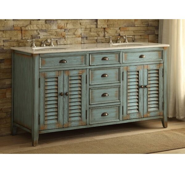 Annabella 60 Double Bathroom Vanity Set by One Allium Way