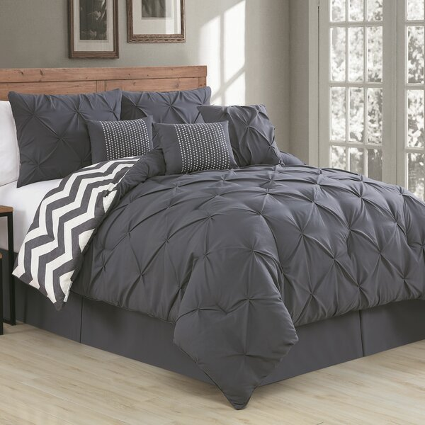 Germain Reversible Comforter Set by House of Hampton