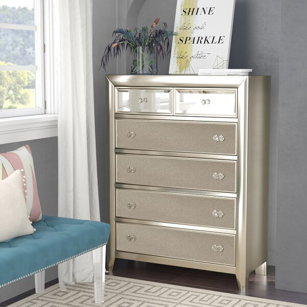 Gottfried 5 Drawer Dresser by Willa Arlo Interiors