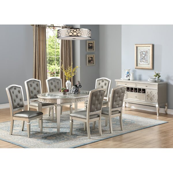 Branscum 7 Piece Drop Leaf Dining Set by House of Hampton