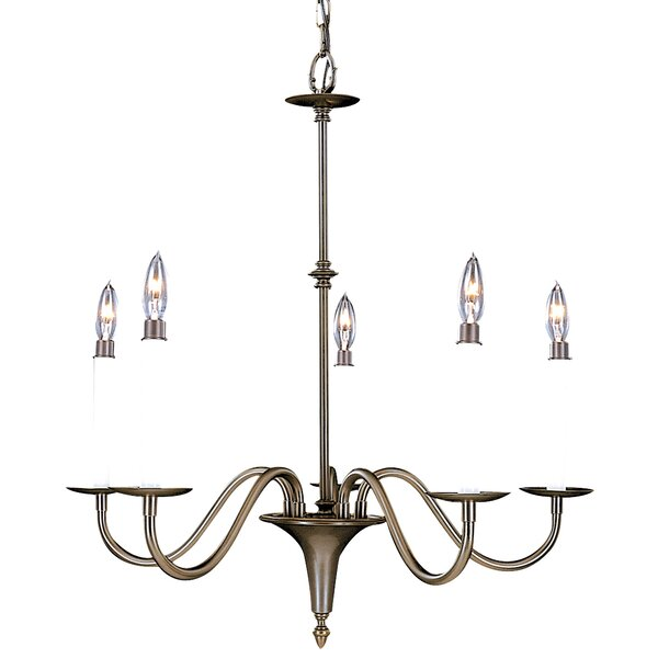 Goetz 5-Light Candle Style Classic / Traditional Chandelier By Alcott Hill