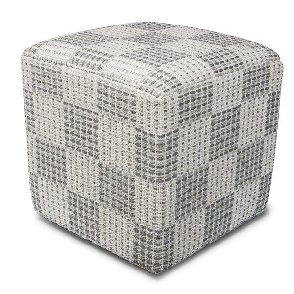 Bay Pines Cube Ottoman by Latitude Run