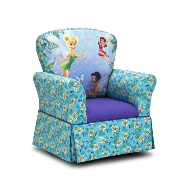 Disney Fairies Skirted Kids Cotton Rocking Chair b