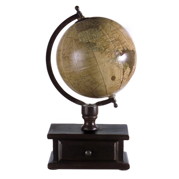 Downer Globe with Storage by Alcott Hill