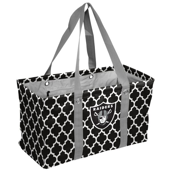 Quatrefoil Caddy Picnic Tote Bag by Logo Brands