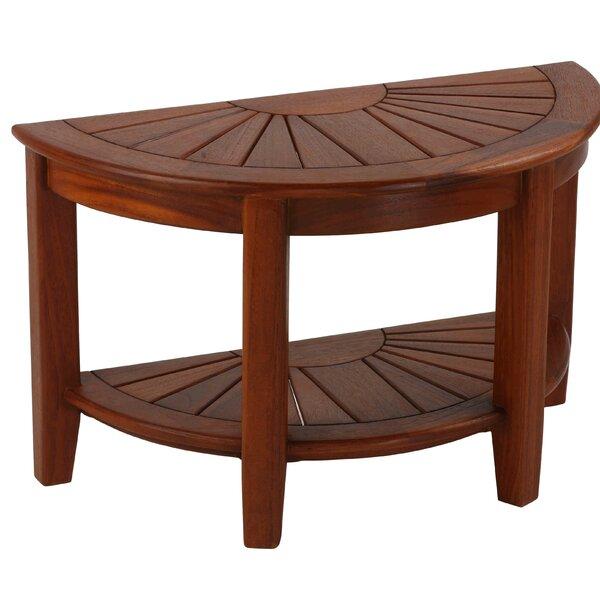 Brookville Teak Side Table by Union Rustic