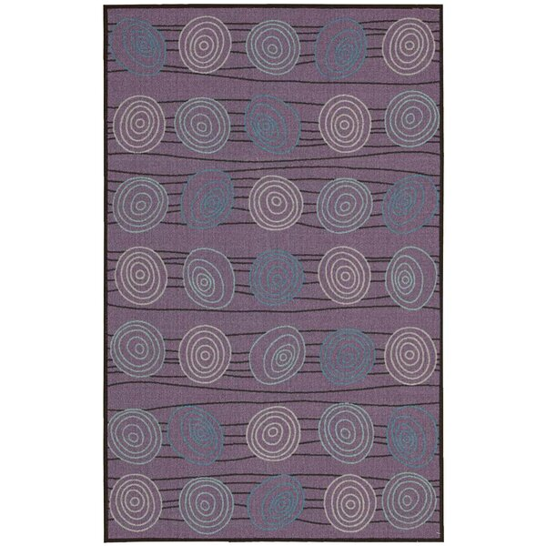 Mount Barker Purple Area Rug by Ebern Designs