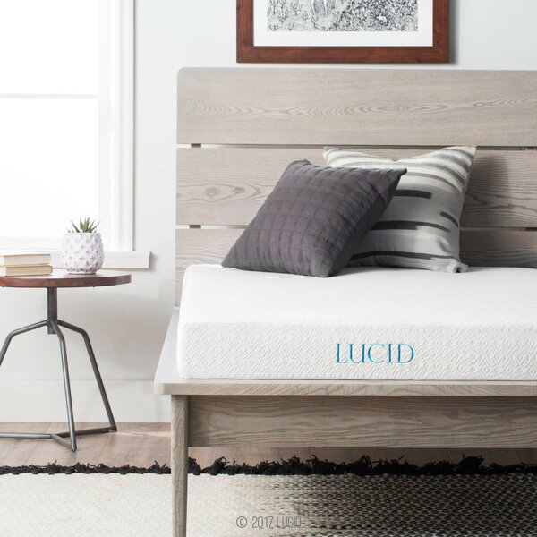 5 Firm Gel Memory Foam Mattress by Lucid