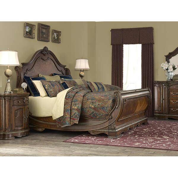 Bella Veneto Sleigh Configurable Bedroom Set by Michael Amini