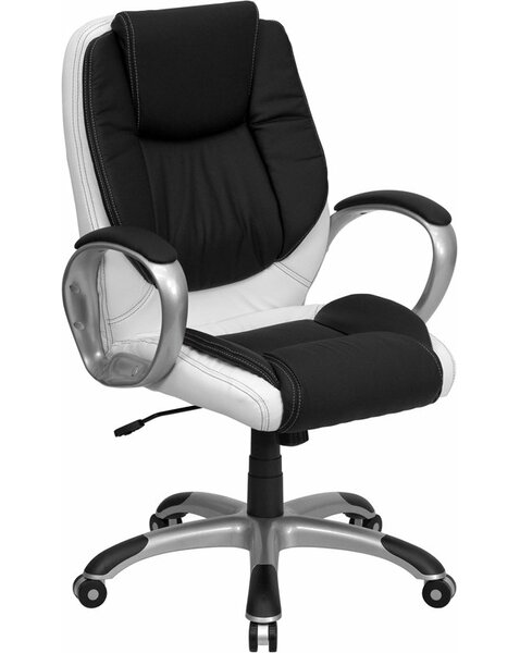 Eatman Mid-Back Ergonomic Executive Chair by Ebern Designs