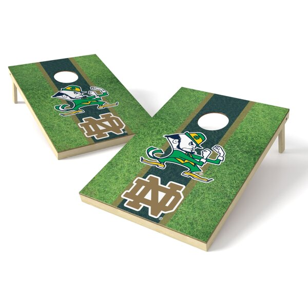 NCAA Field Cornhole Board (Set of 2) by Tailgate Toss