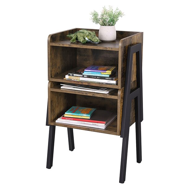 Osiris 4 Legs End Table With Storage By Andover Mills™