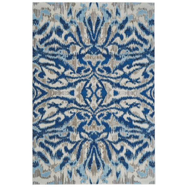 Beach Channel Blue Haze Area Rug by Wrought Studio