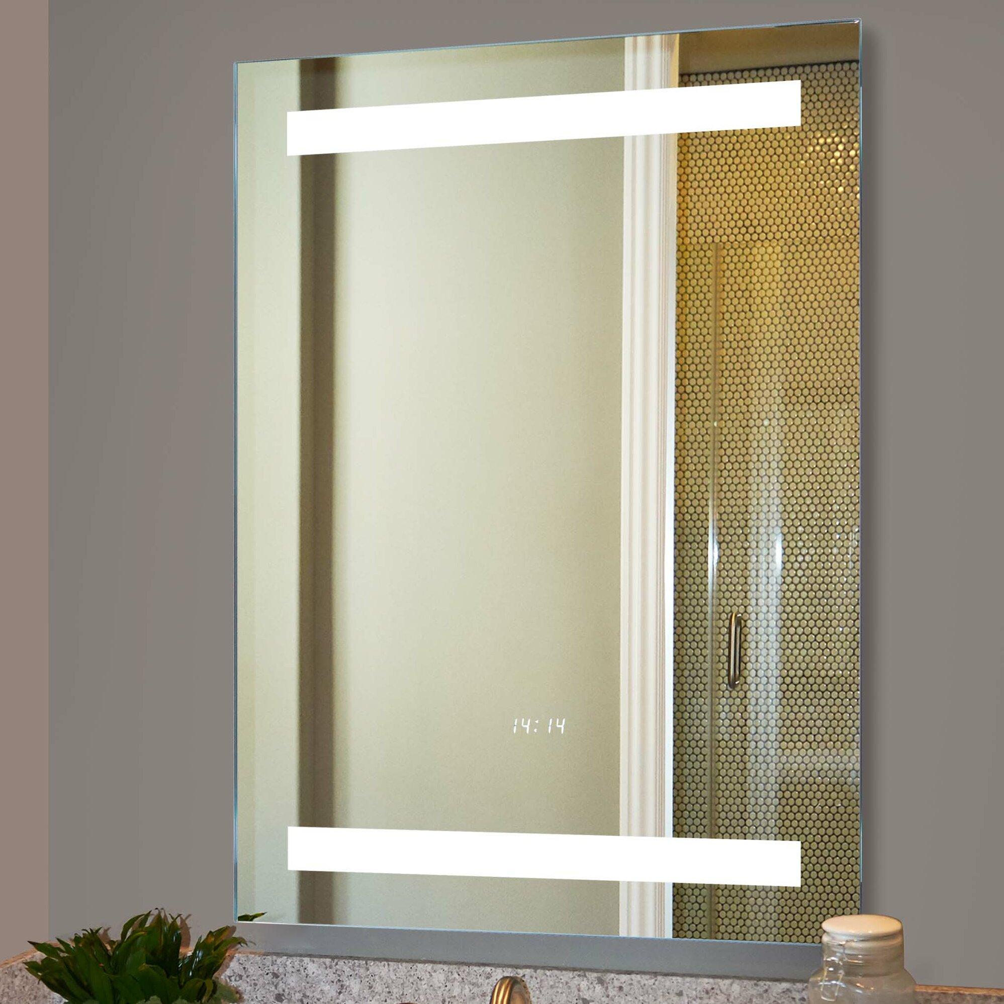 Wade Logan Electric Bathroom/Vanity Mirror | Wayfair