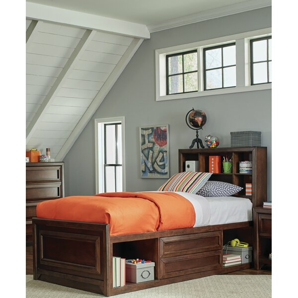 Skiba Twin Storage Platform Bed by Harriet Bee